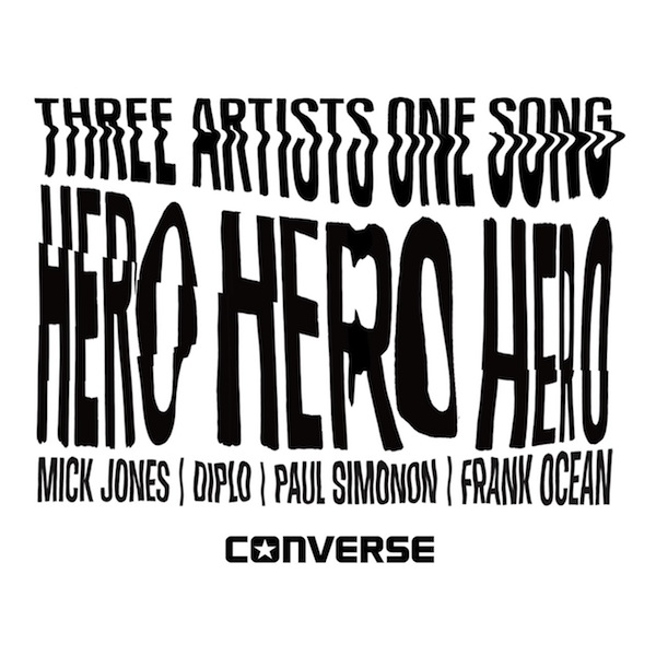 Hero – Diplo, Frank Ocean, Mick Jones, Paul Simonon