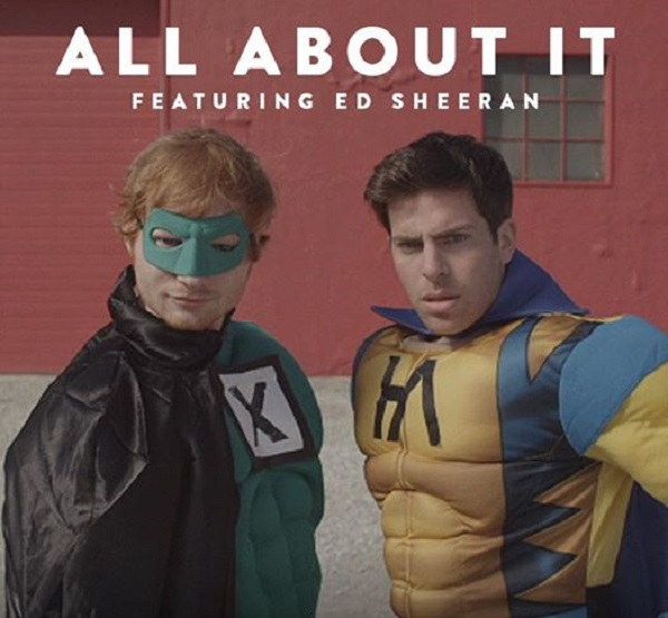 All About It – Hoodie Allen Ft. Ed Sheeran